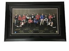 17x30 2008 All-Star Tribute Frame Signed by Toews, Kane, Crosby, etc. (With COA)
