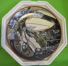 """Franklin Mint Harley Davidson """"94 Special"""" Collector Plate Motorcycle"""