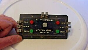 O Scale Vintage Marx #511 Electric Switch Control Panel