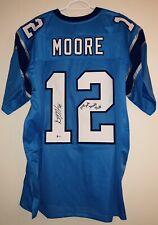 D.J. Moore Signed Carolina Panthers Autographed Football Jersey Beckett BAS COA