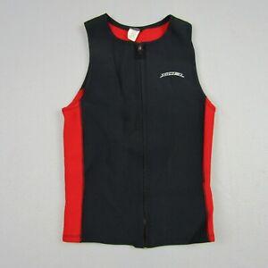 Vintage XCEL Wetsuit Vest Men Medium Full Zip Vest Dive Scuba Half Suit Neoprene