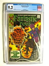 Fantastic Four #78 (Marvel September 1968) CGC 9.2 Off-White to White Pages