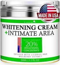 Whitening Cream - Advanced Skin Bleaching Cream for Face - Body - Intimate Areas