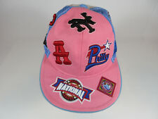 NATIONAL NEGRO LEAGUE BASEBALL MUSEUM PINK LADIE'S BASEBALL CAP HAT SIZE 7 3/8
