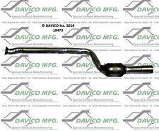 Catalytic Converter-Exact-Fit Rear Right Davico Exc CA 18473