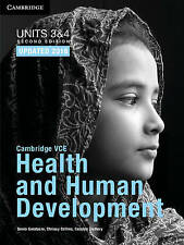 *NEW* Cambridge VCE Health and Human Development Units 3 and 4 Bundle