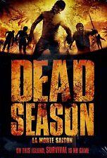 BRAND NEW HORROR DVD // DEAD SEASON //  ZOMBIE // James Burns, Scott Peat, Maris