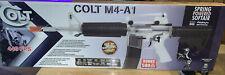 NEW NIB Colt M4-A1 Spring Powered Soft Air Rifle Blaze Orange Barrel Plug