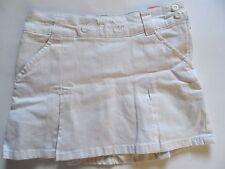 Dickies Girls' Skirt, Size 10, White
