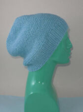 EASY- PRINTED INSTRUCTIONS- CHUNKY GARTER STITCH SLOUCH HAT KNITTING PATTERN