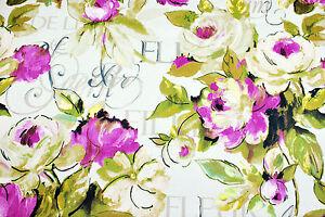 """Lotus"" Prestigious Textiles curtain/soft furnishing fabric, Cotton Satin, 2.6m"