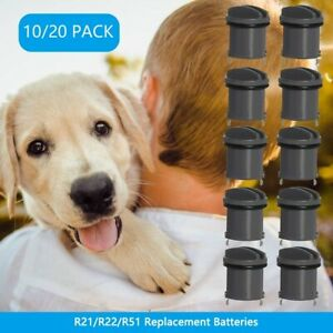 R21 R22 R51 Replacement Batteries for Invisible Fence Dog Collar - 10/20 PACK