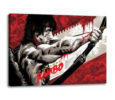 "RAMBO FIRST BLOOD 2 CANVAS Last Blood Wall Art Poster Photo Print ""30x""20 CANVAS"