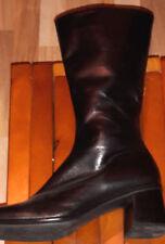 GABOR halbhohe Stiefel Gr. 7 schwarz 5cm Absatz ***NEU***