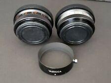 Yashica Yashikor Aux. Wide Angle & Telephoto 1:4 Lens Set for Yashica Electro 35