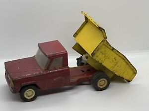 Vintage 1964 Tonka Jeep Dump Truck #52110 Antique Vtg Pressed Steel Metal Toy