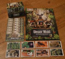 Edeka Unser Wald *2/5/10/20/30/40 oder 50 Sticker aussuchen Tüten, Album* NEU