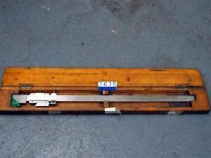 Chesterman 660mm vernier caliper(2635)