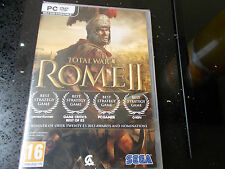 TOTAL WAR ROME 2 - PC GAME  - NEW - SEALED - 3 disc