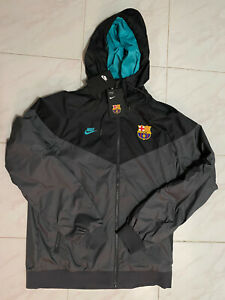 Nike F.C. Barcelona Barca Windrunner Windbreaker Jacket CI1315-025 Mens M Medium