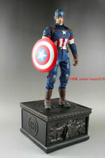 Resin Captain America Stand Base For Hottoys Sideshow 1/6 Collection Statue NEW