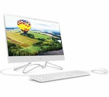 "HP 22-c1006na 21.5"" All-in-One PC AMD Ryzen 3 1 TB HDD & 256 GB SSD White Currys"