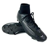 Nike Men's Mercurial Victory VI DF FG Football Boots Size UK 7 Black Studded