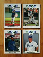 2008 Topps TAMPA BAY RAYS Team Set (23) Cards