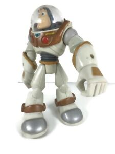 Disney Pixar Action Figure Toy Buzz Lightyear Hasbro Gold Brown Trim 2006 15cm
