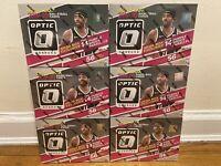 2019-20 DONRUSS OPTIC NBA BASKETBALL MEGA BOX TARGET 56 CARDS SHOCK ZION LEBRON