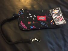 Dickies cosmetic case bag black w key fob