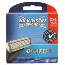 10 Wilkinson Sword Quattro Plus Klingen Ersatzklingen NEU OVP