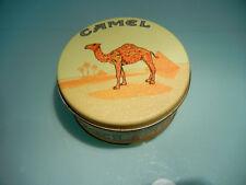 Zippo Chrome Engraved Camel Lighter and Collectible Tin NIB