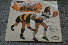 """New listing SINFUL RUGBY SONGS - The Shower-Room Squad - 12"""" Vinyl Album LP - CHM693"""