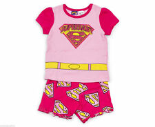 Superman Superbaby Pyjamas Set (Pink/Yellow) - 100% cotton - Size 2 years
