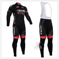 Ropa de ciclismo Bora Invierno termica thermal manga larga cycling winter fleece