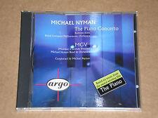 MICHAEL NYMAN - THE PIANO CONCERTO /MGV (LEZIONI DI PIANO)- CD COME NUOVO (MINT)