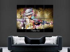 One Piece Trafalgar impresión de fotos de Arte Pared Poster Manga Grande Enorme!!!
