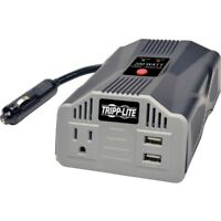 Tripp Lite 200w Powerverter Ultra-compact Car Inverter With Outlet And 2 Usb
