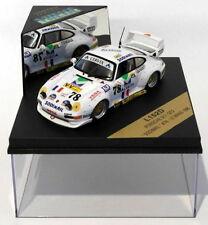 Voitures miniatures de tourisme blancs Vitesse Porsche