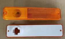 JEEP SIDE MARKER AMBER LAMPS PAIR 1970 - 86 CJ5 CJ6 CJ7 CJ8 JEEPSTER WAGONEER