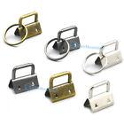 25mm Key Fob Hardware Keychain Ring Wrist Wristlets For Ribbon Webbing Keyring U