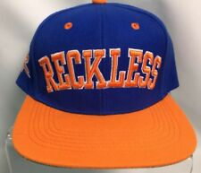Y&R Young and Reckless Blue Orange Baseball Hat Cap Adjustable Snapback