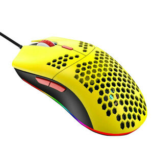 LED Wired Gaming Mouse 12000DPI USB Computer Mouse Backlight Accessory