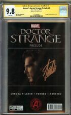 Marvel's Doctor Strange Prelude #2 CGC 9.8 NM/MT Signed STAN LEE Cumberbatch