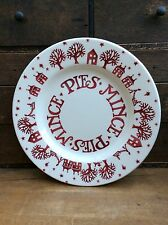 Emma Bridgewater Christmas Town Collectors Club Plate