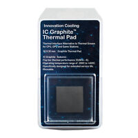 Innovation Cooling Graphite Thermal Pad Alternative To Thermal PasteGrease 30x30