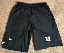 Duke Blue Devils authentic Nike practice shorts black, size Small NEW!