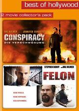 FSK 18 - 2DVDs - CONSPIRACY  #  FELON - Val Kilmer - NEU*OVP