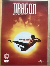 Jason Scott Lee Dragon THE BRUCE STORY 1993 Artes Marciales Biografía Drama GB